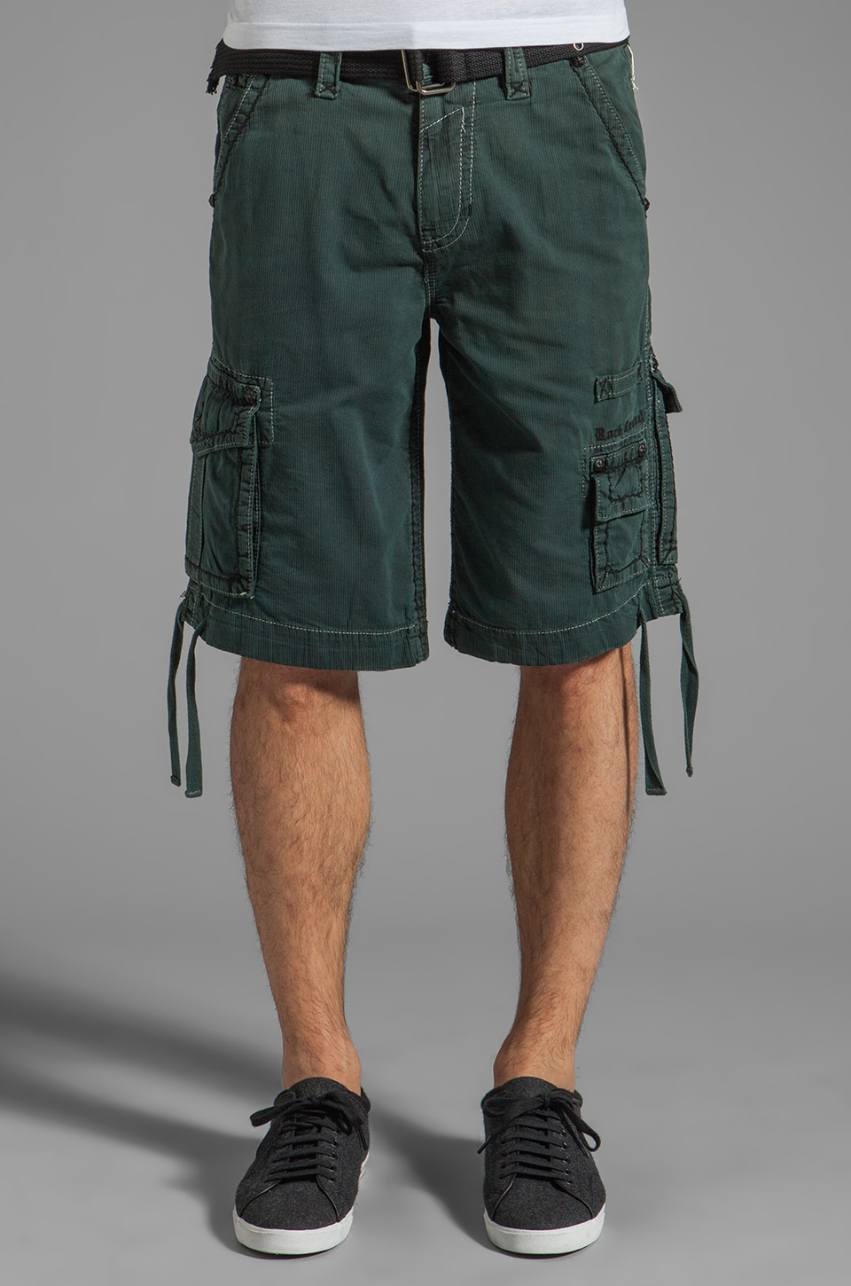 Rock Revival Cargo Short in Teal