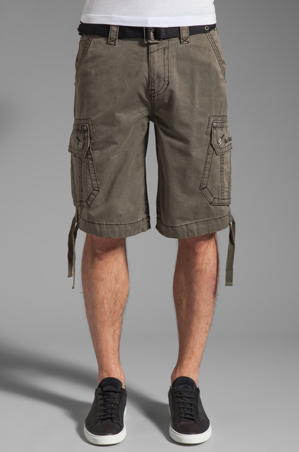 Rock Revival Cargo Short in Sage
