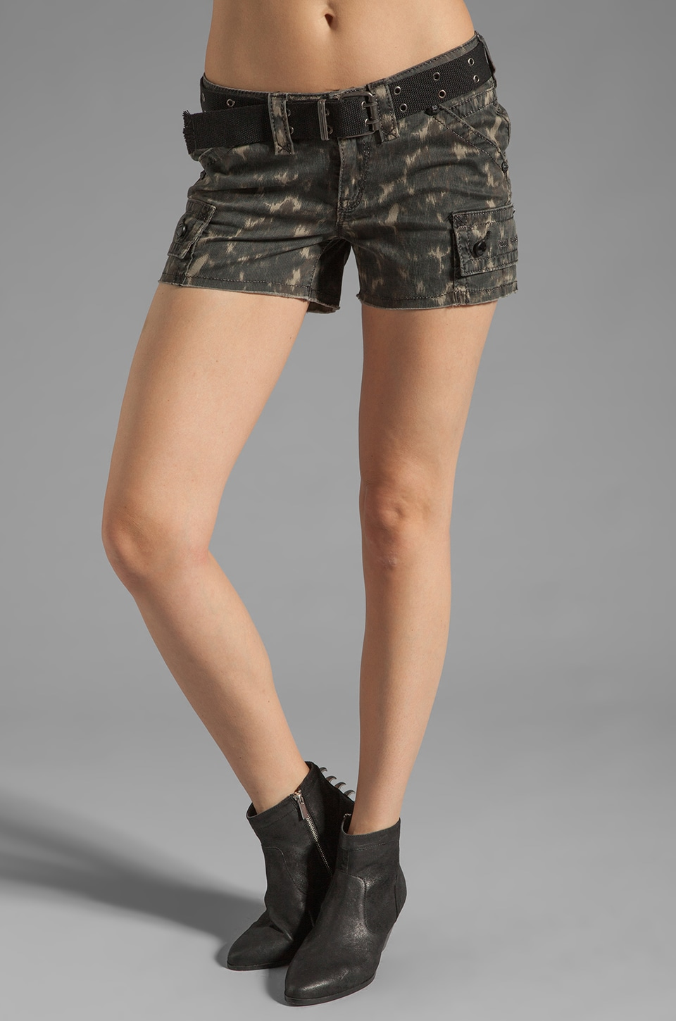 Rock Revival Short in Camouflage
