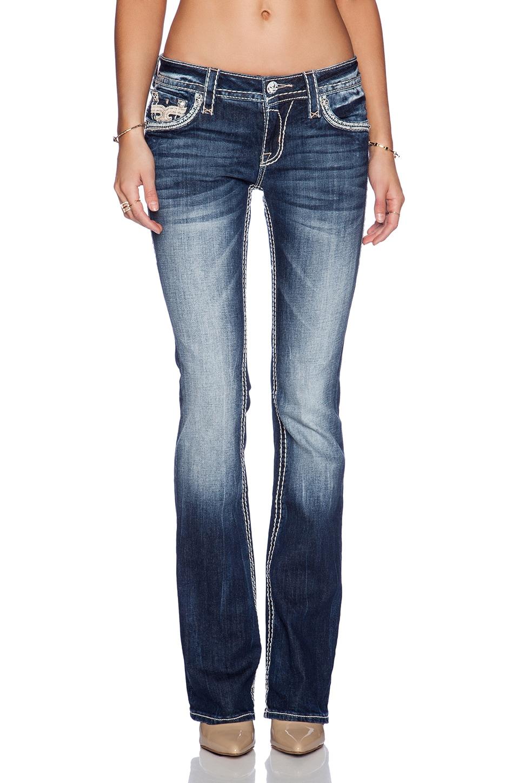 Rock Revival Jeans Corte Bota Kailyn En B8 Revolve