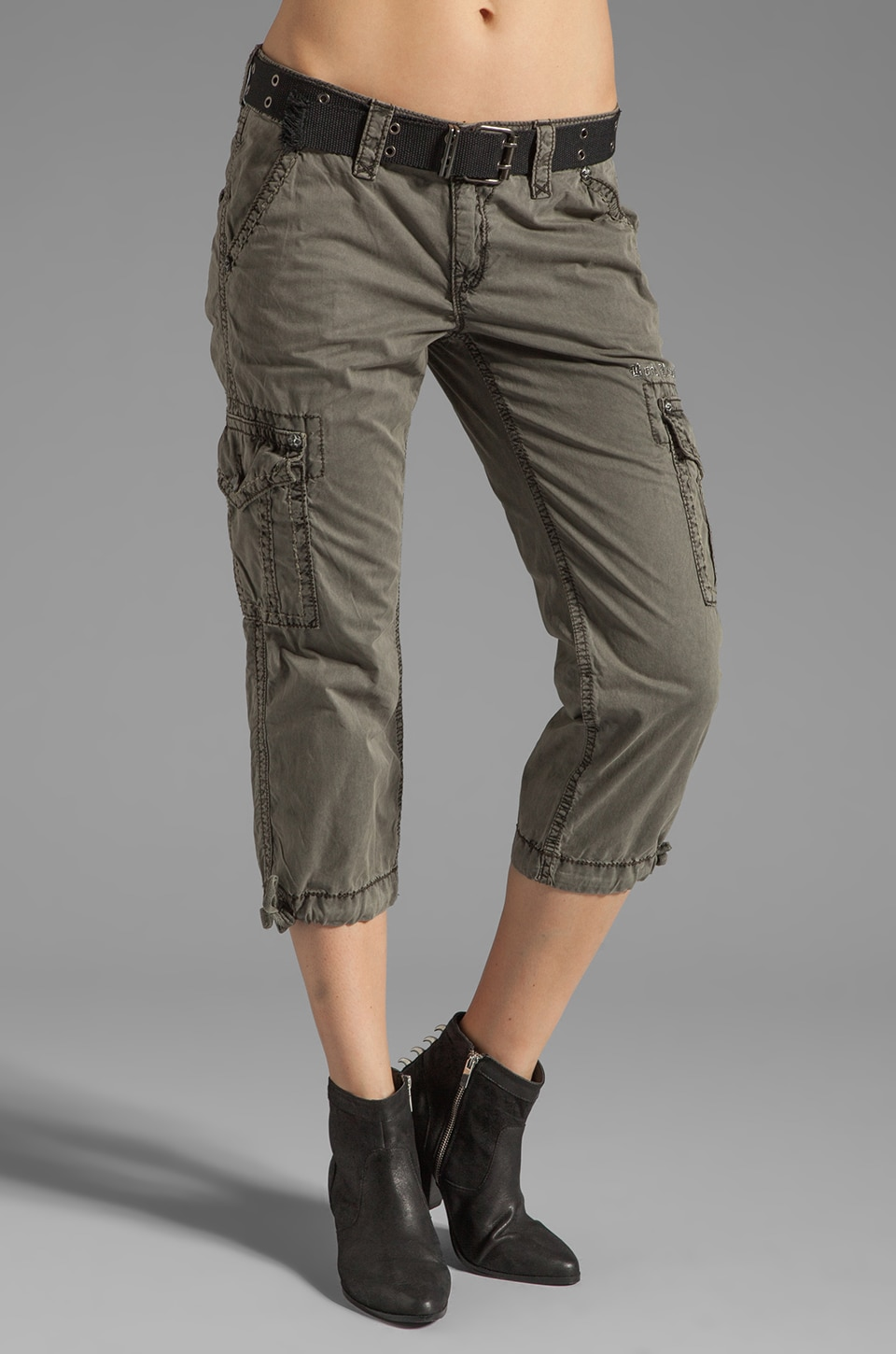 Rock Revival Cargo Pant in Slate