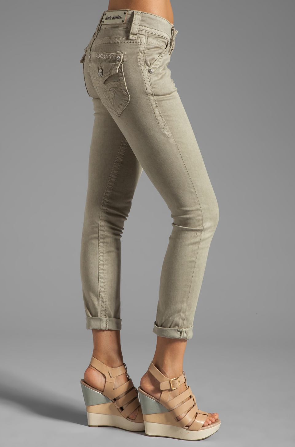 Rock Revival Skinny Pant in CK4