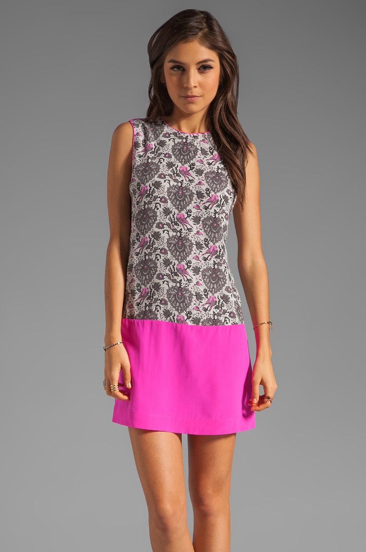 Rebecca Taylor Lovebird Shift Dress in Pink