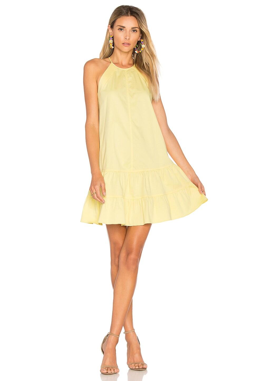 Rebecca taylor robe sans manches en citron revolve for Rebecca robe mariage taylor