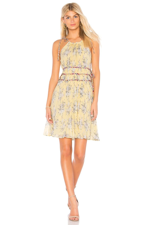Lemon Rose Dress