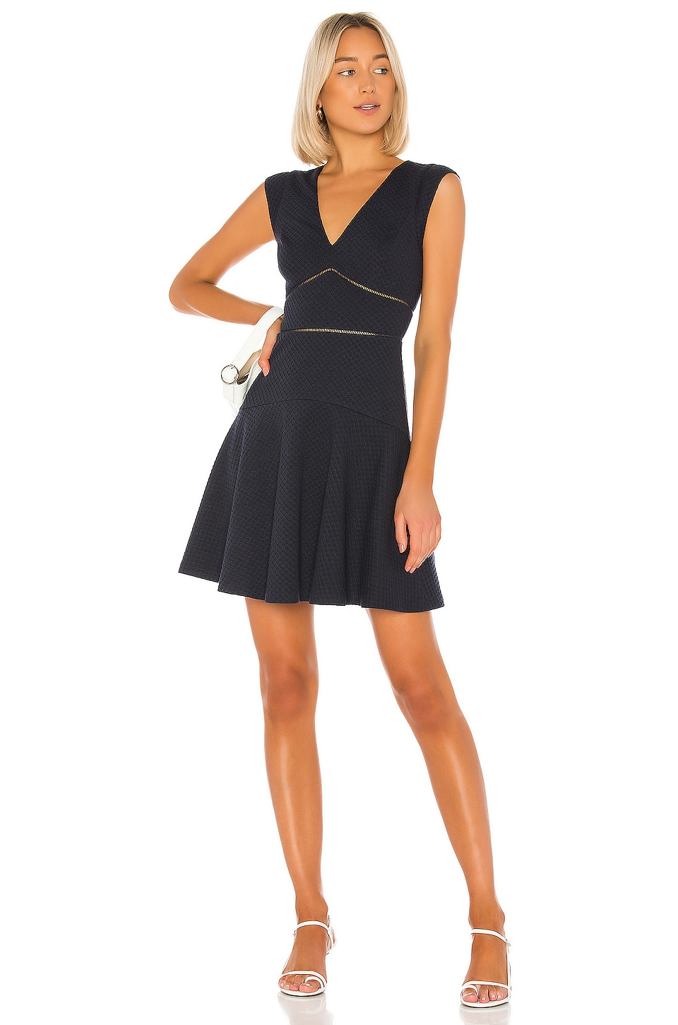 Rebecca Taylor Taylor Dress in Navy