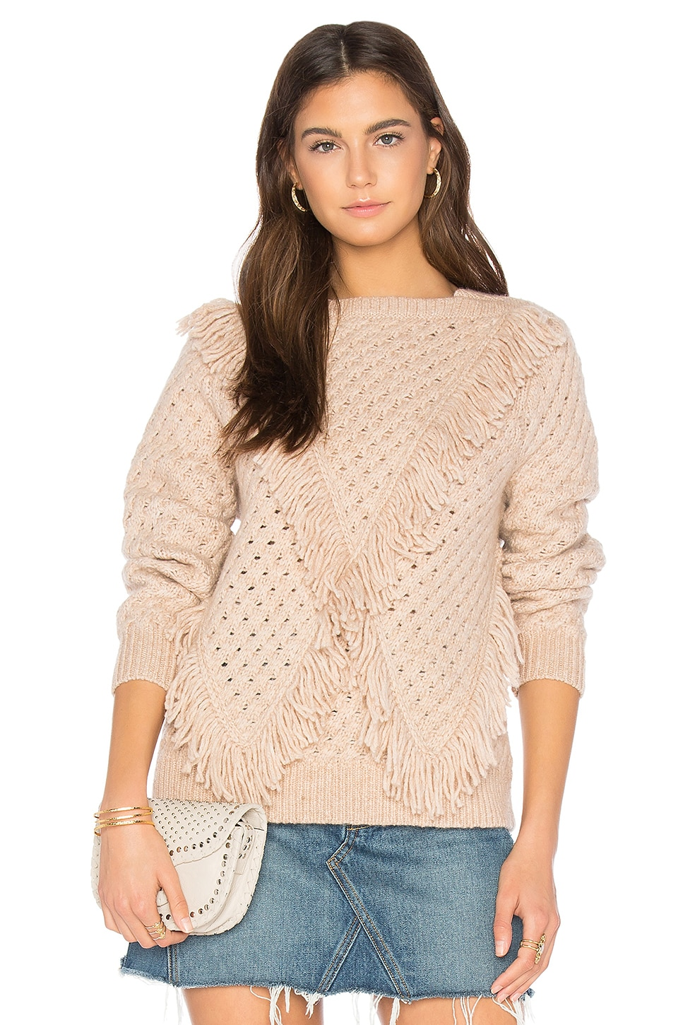 Fringe Pullover by Rebecca Taylor