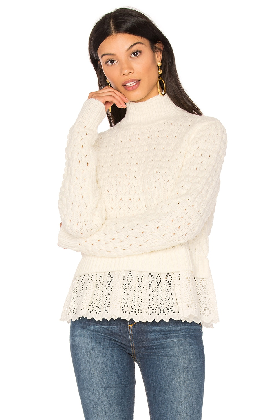 Pop Stich Pullover by Rebecca Taylor