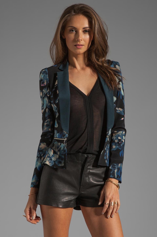 Rebecca Taylor Hawaii Zip Jacket in Black