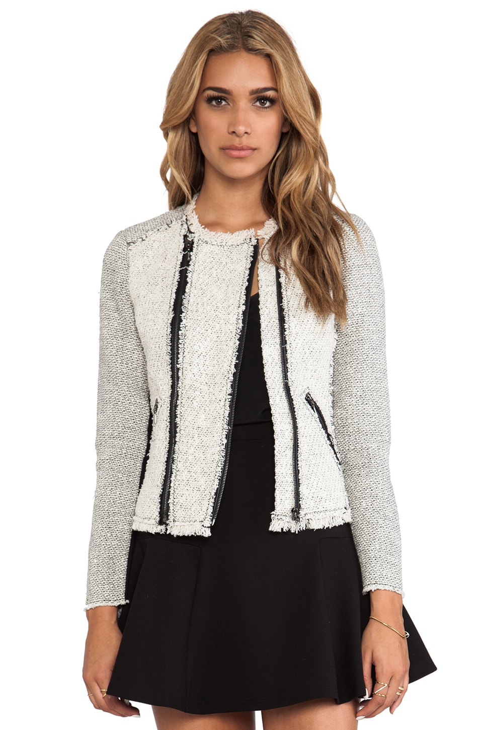 Rebecca Taylor Tweed Jacket in Pece