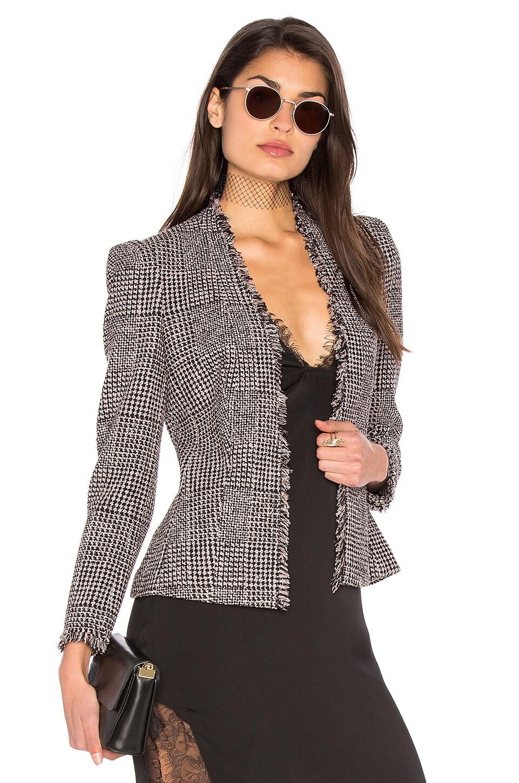 Houndstooth Tweed Jacket by Rebecca Taylor