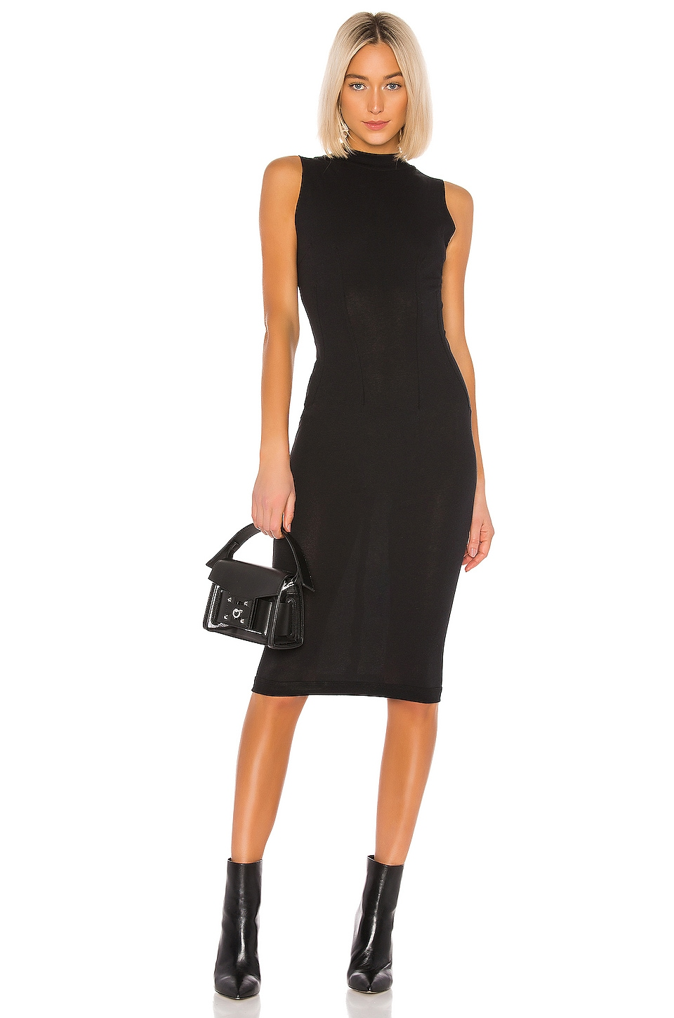 RtA Bandit Dress in Black