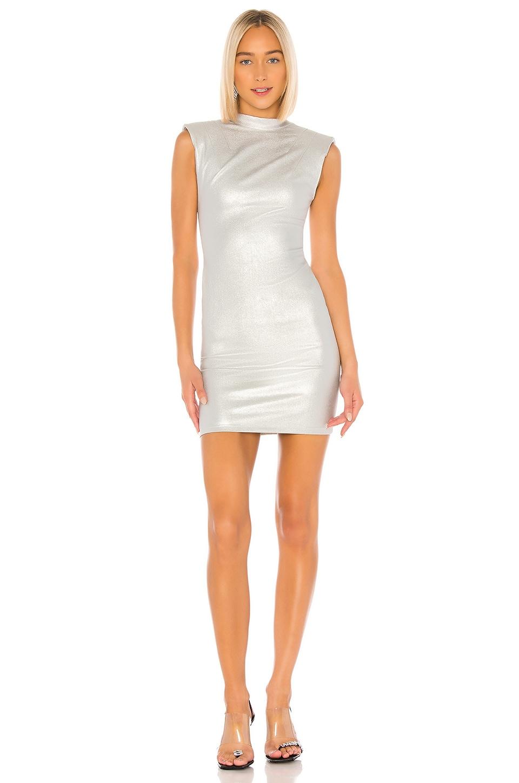RtA Betty Dress in Sound Silver