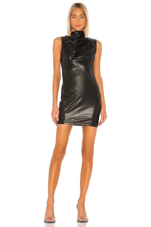 RtA Holly Dress in Black Palermo