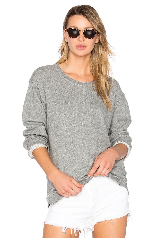 RtA Beal Sweatshirt in Ice