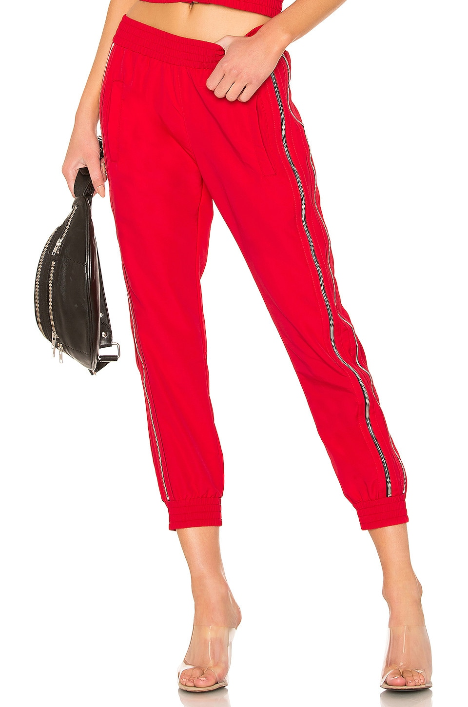 RtA Sporte Pant in Track Red