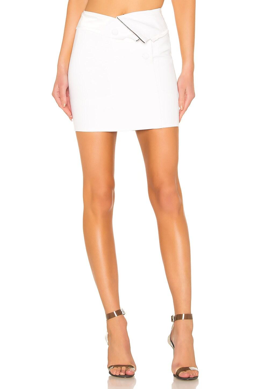 RtA Zandra Skirt in Tailor White