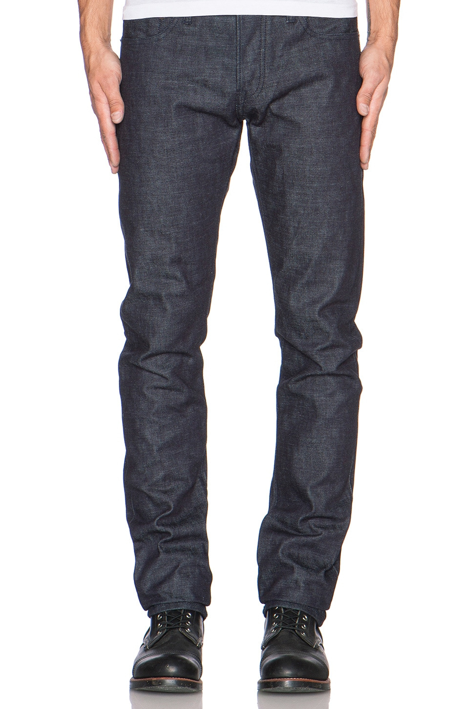 Rogue Territory SK 14.5oz Japanese Selvedge in Navy Thread
