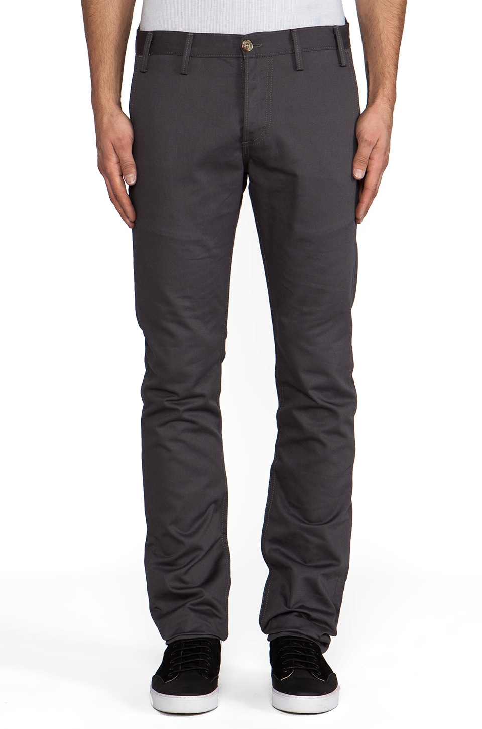 Rogue Territory Officer Trouser 8oz Twill in Grey