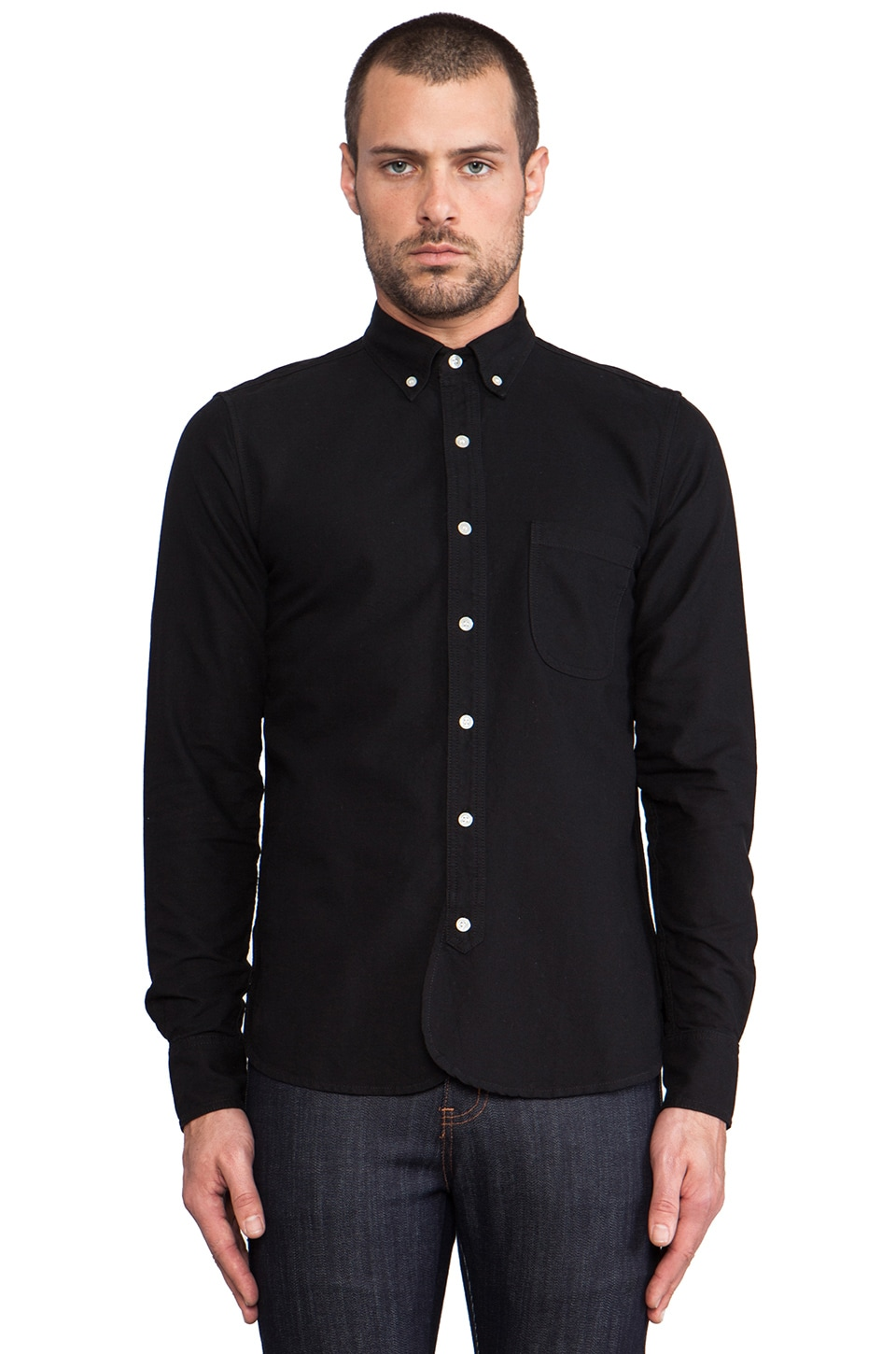 Rogue Territory Maker Button Down in Black