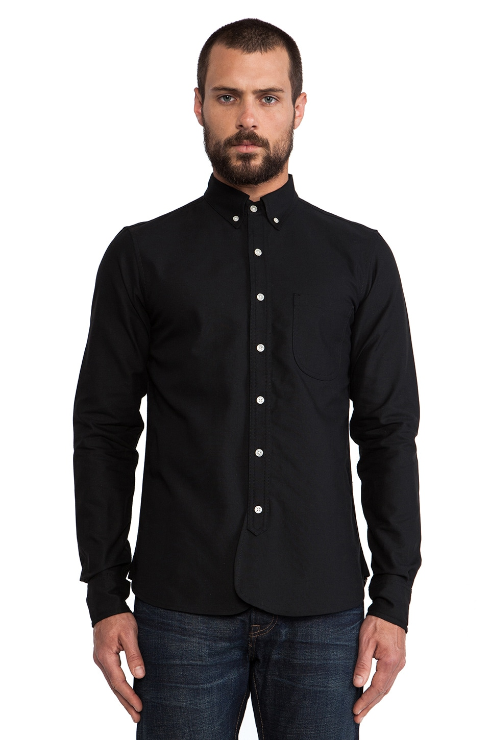 Rogue Territory Maker Shirt Long Sleeve in Black