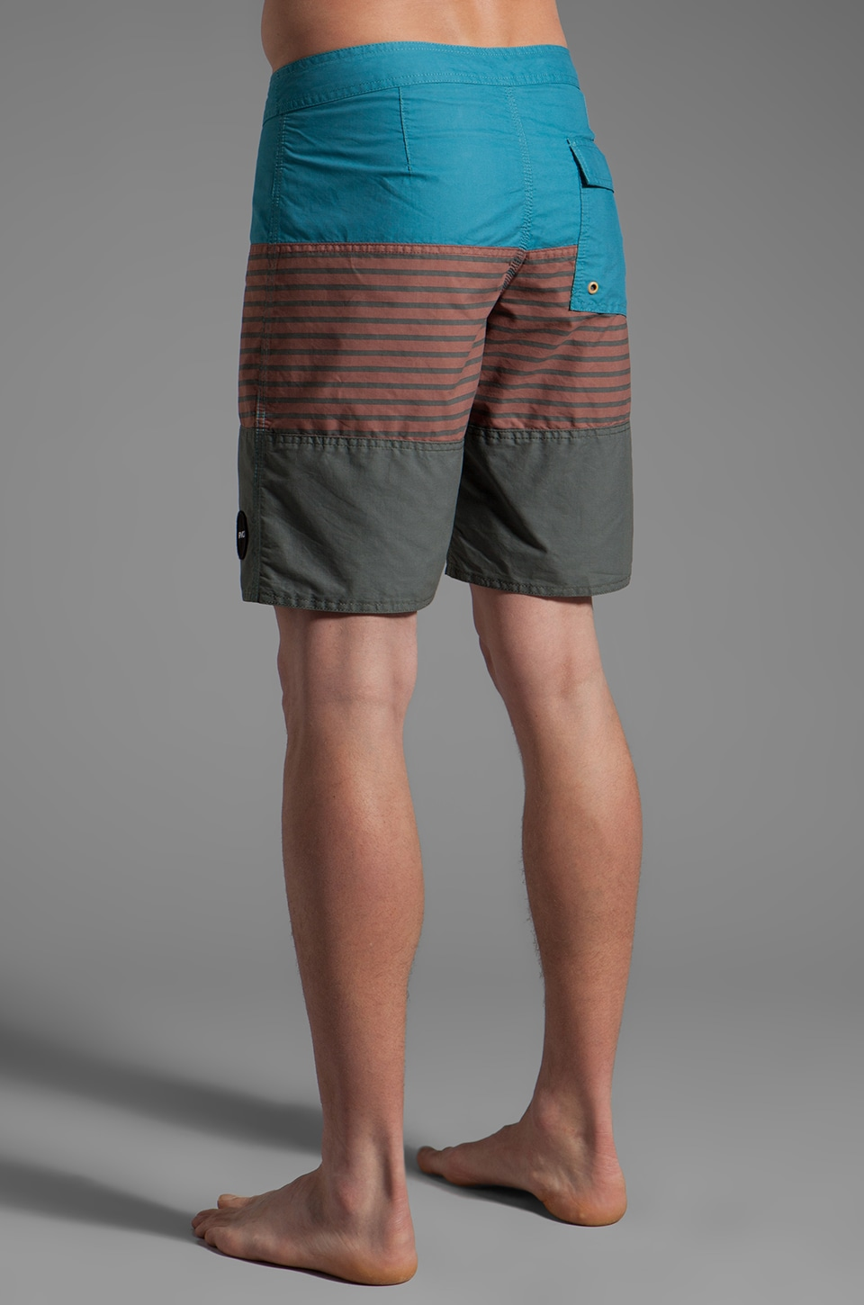 RVCA Layer Boardshort in Henna/Ocean Depth