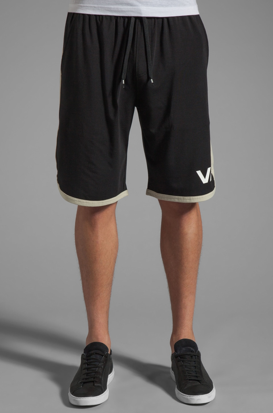 RVCA VA Sport Short in Black/Stone