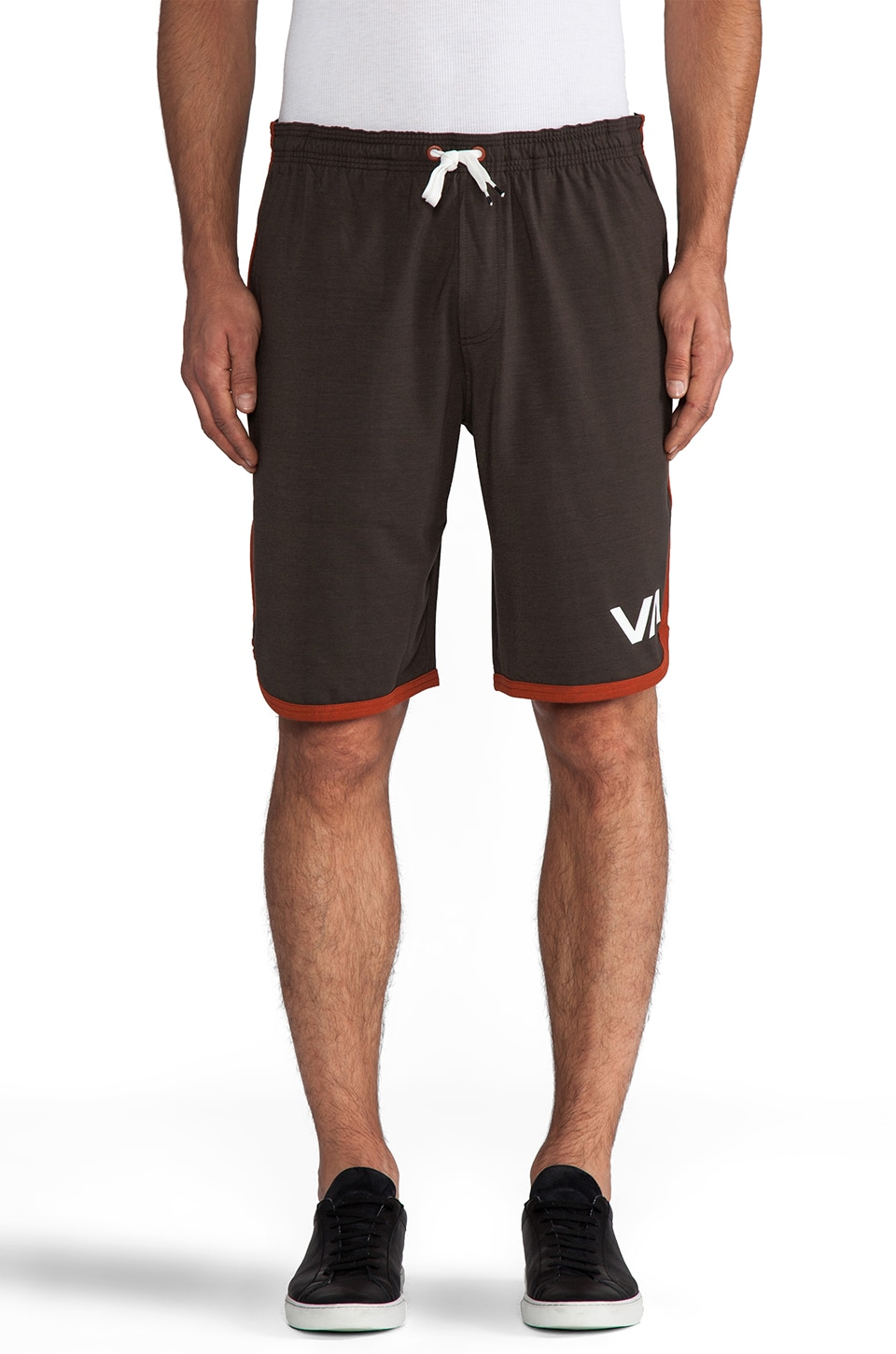 RVCA VA Sport Short in Dark Charcoal