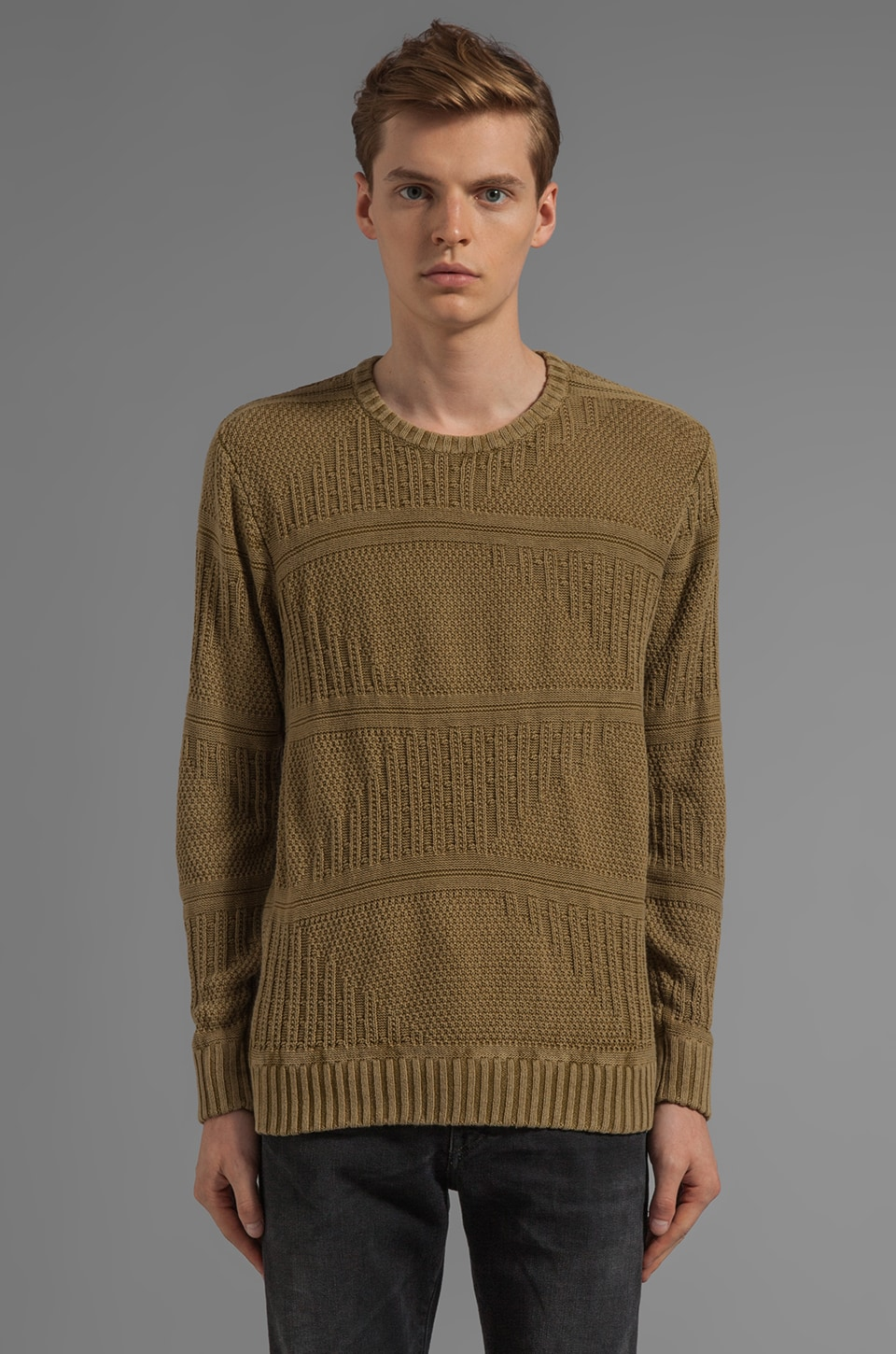RVCA X Alex Knost Signature Collection Boutique Sweater in Avocado