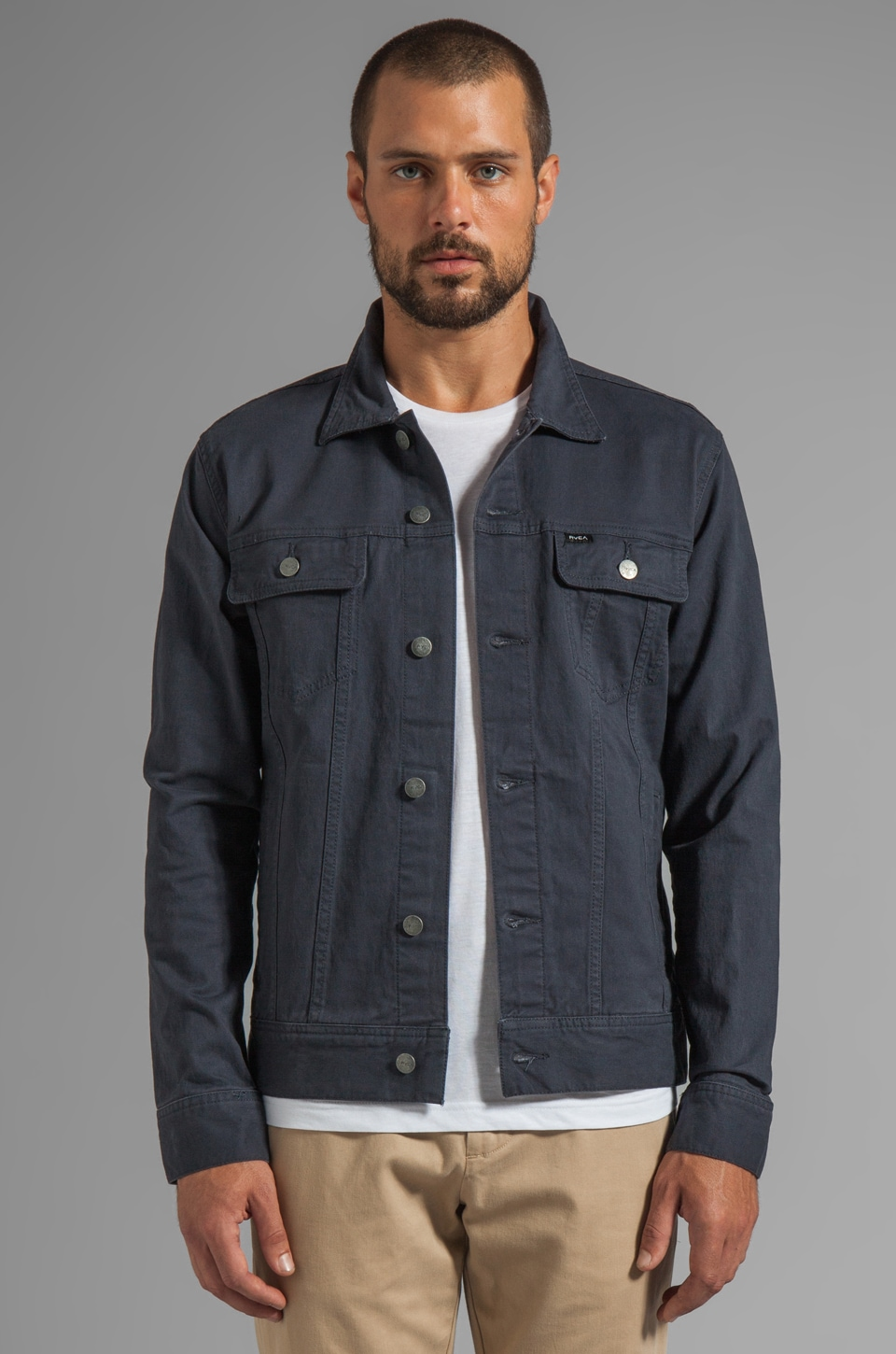 RVCA Jeano Denim Jacket in Ink
