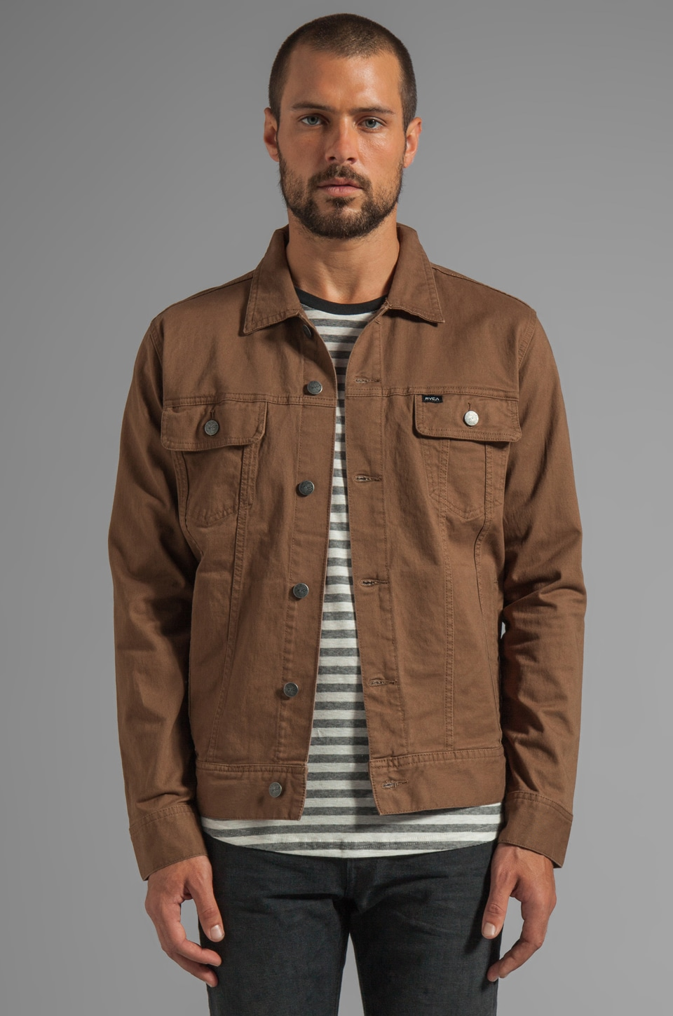 RVCA Jeano Denim Jacket in Cub