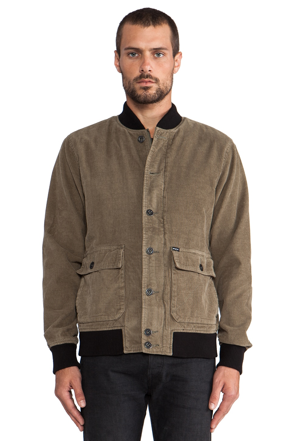 RVCA Varso Jacket in Dusty Olive