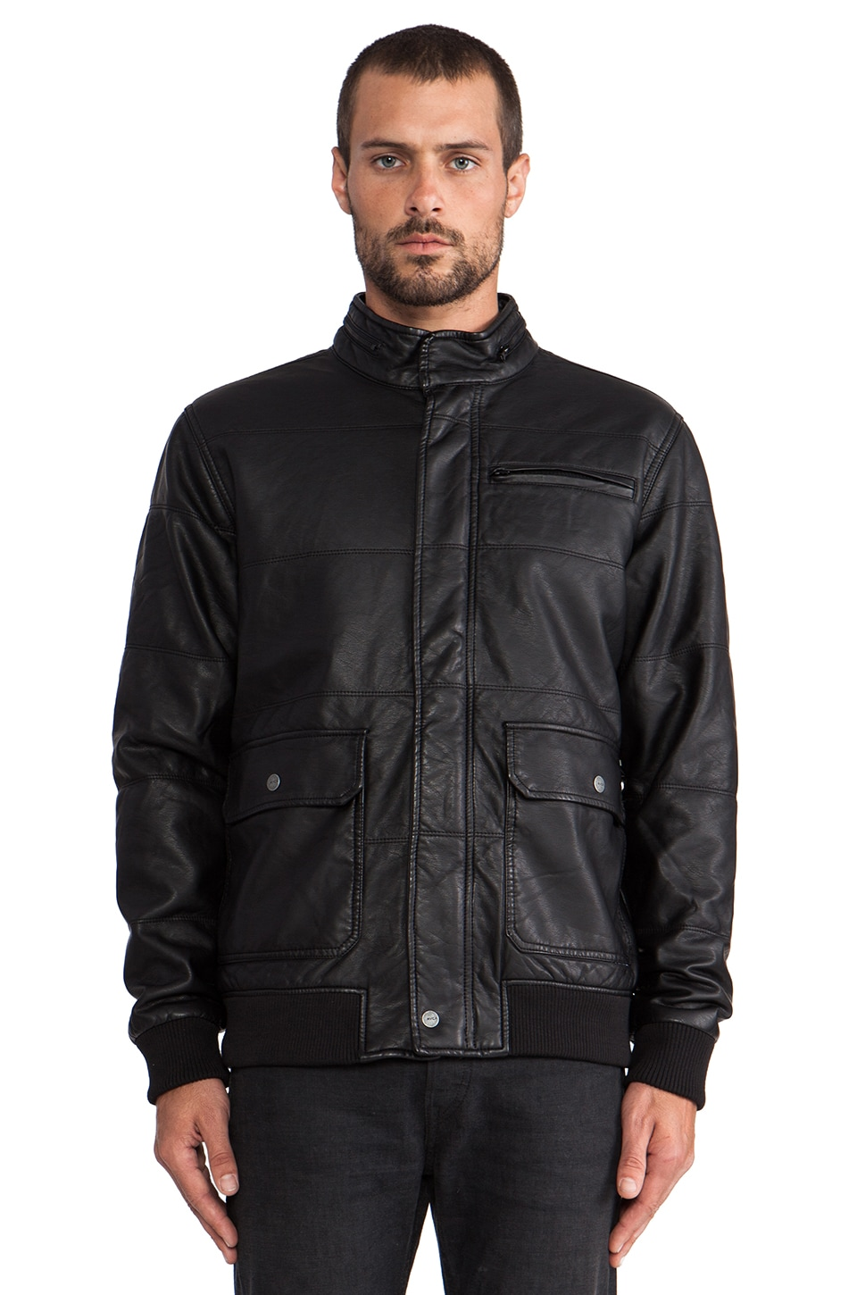 RVCA Vimy Jacket in Black