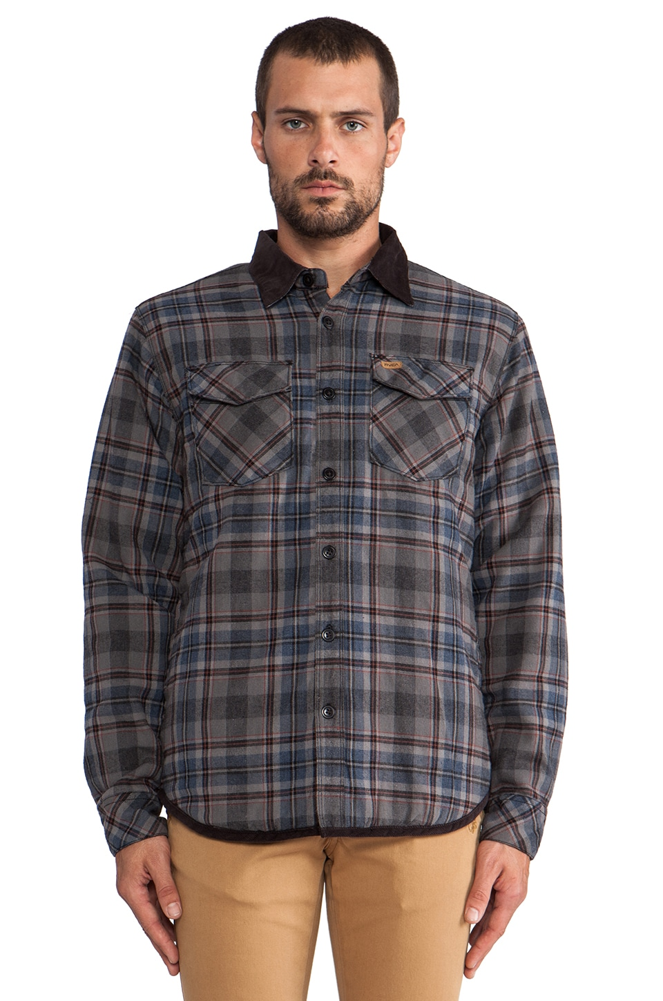 RVCA Frostline Shirt Jacket in Black