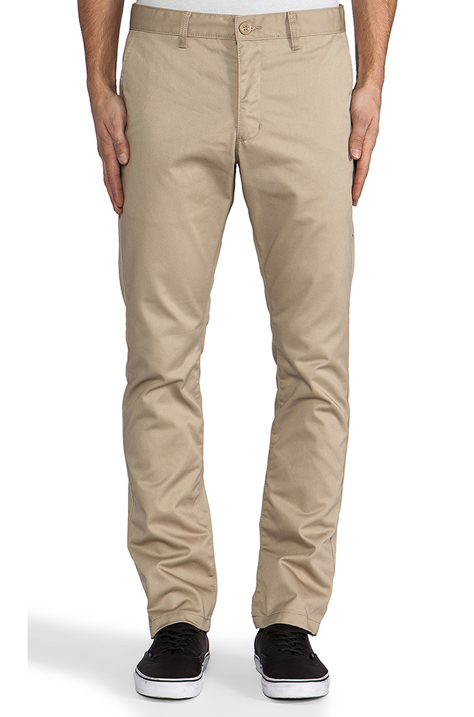 RVCA Pant in Dark Khaki