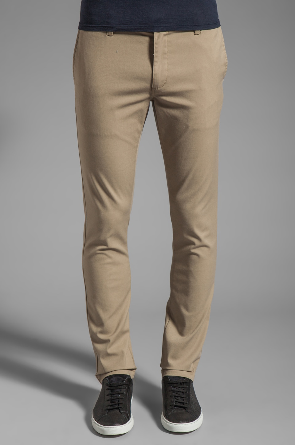 RVCA Stapler Chino in Khaki