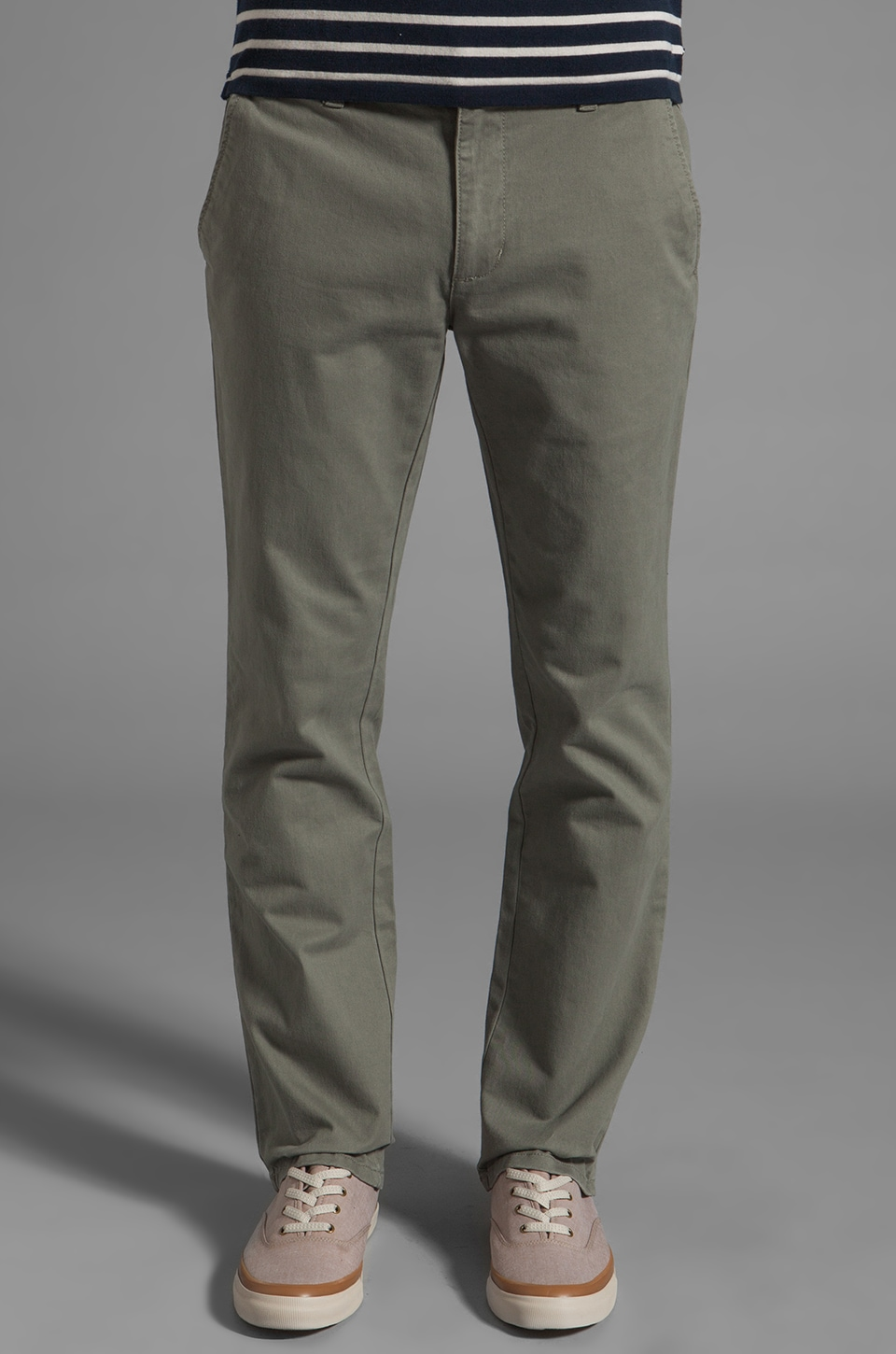RVCA All Time Chino Pant in Olive Mute