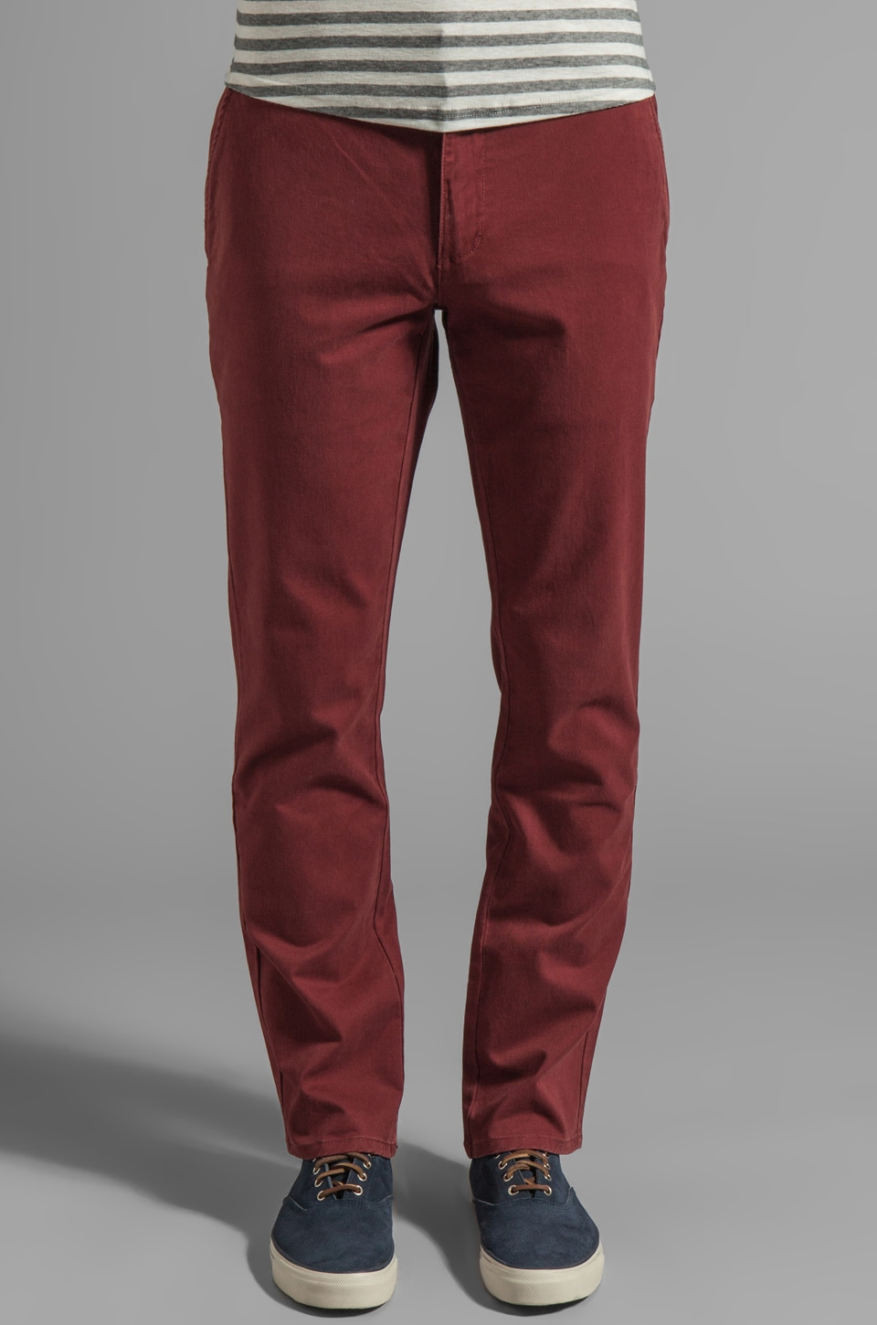 RVCA All Time Chino Pant in Red Earth