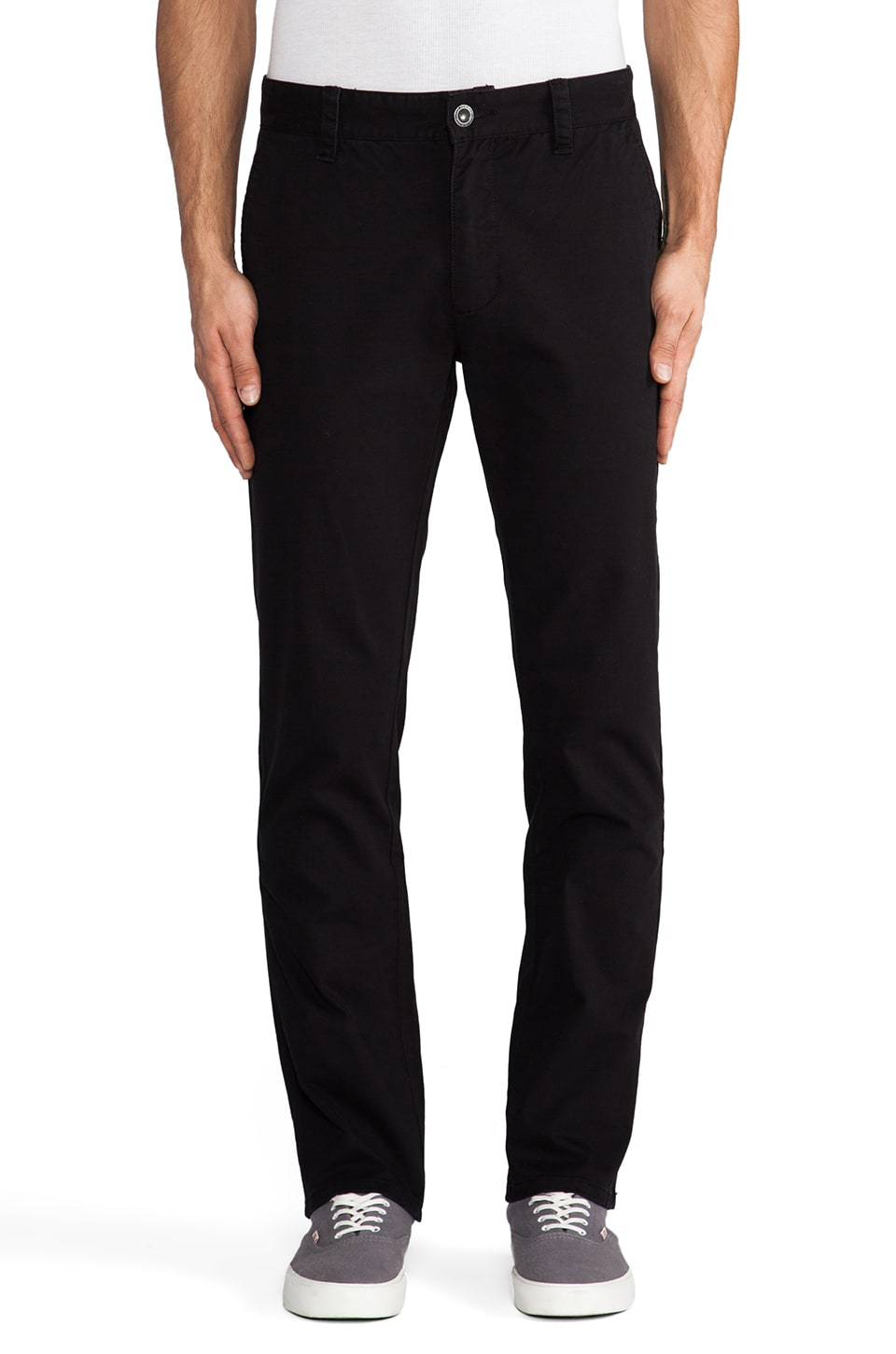 RVCA All Time Chino Pant in Black
