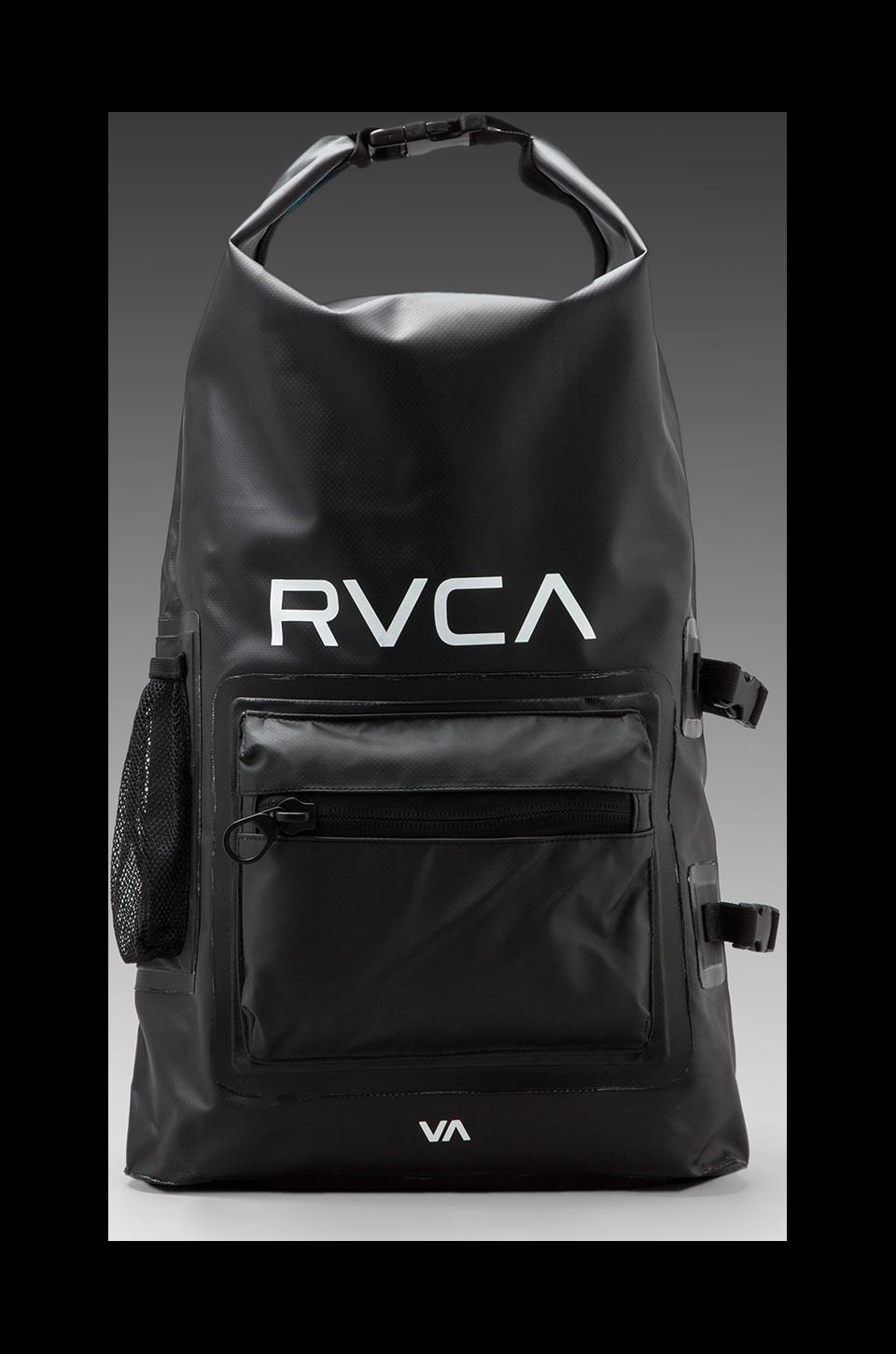 RVCA Go-Be Wet/Dry Backpack in Black