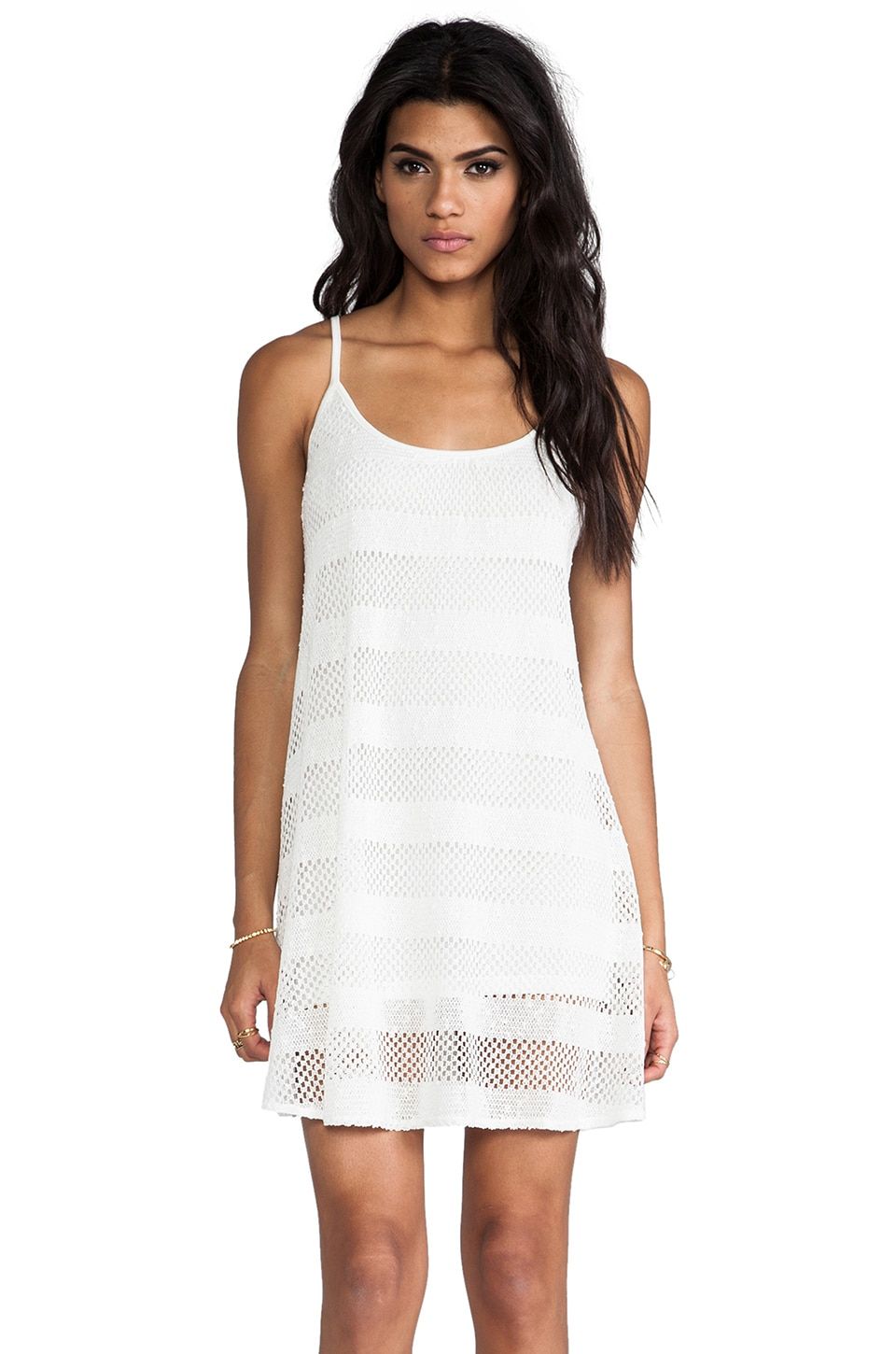RVCA Bori Dress in White