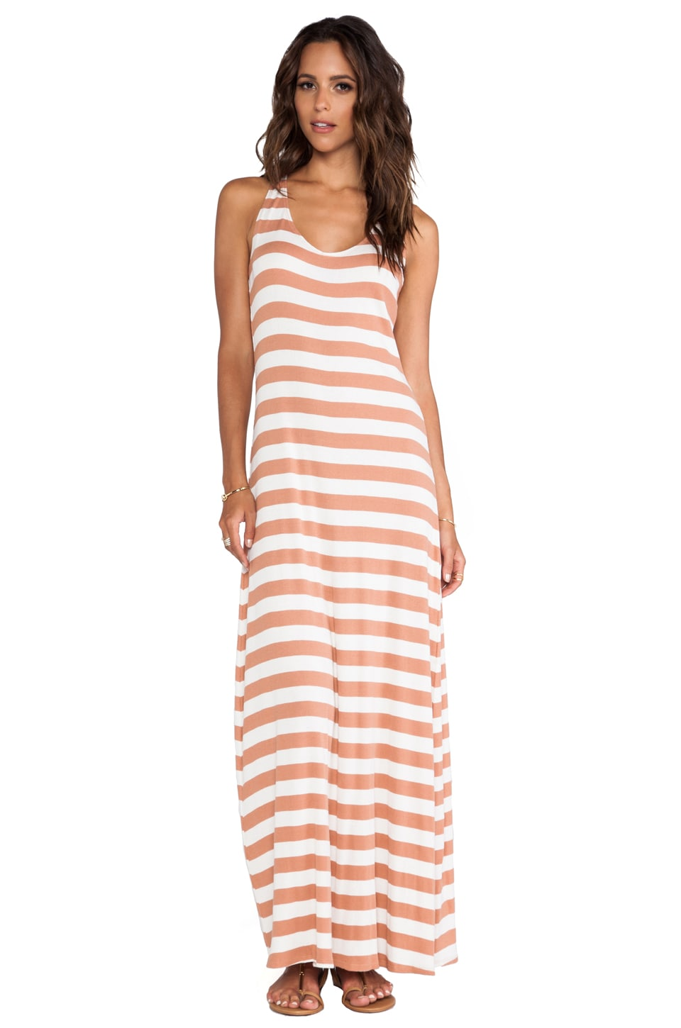 RVCA Artemisia Maxi Dress in Cork