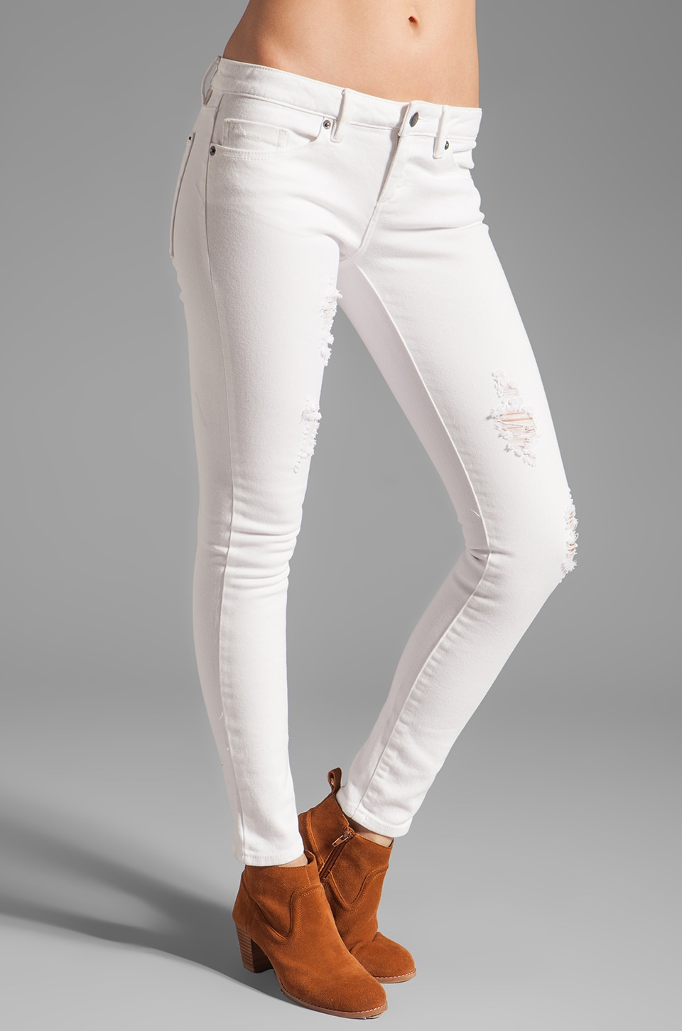 RVCA Bedlands Skinny in Marshmellow