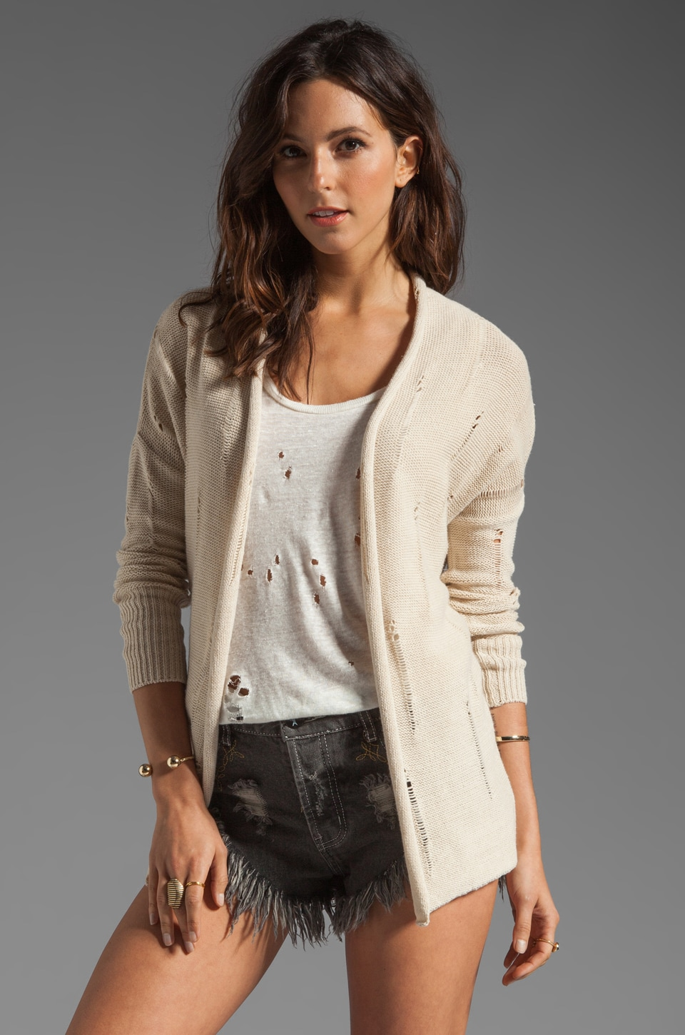 RVCA Hausa Sweater in Oatmeal