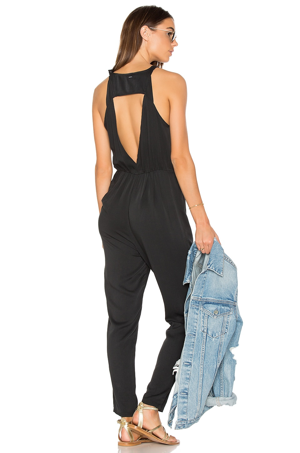 RVCA Livonia Jumpsuit in Black