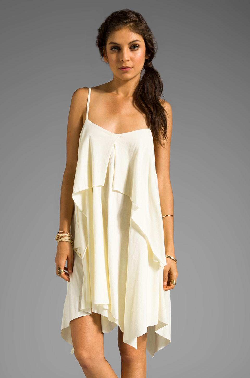 RVCA Katsina Tunic in Marshmallow