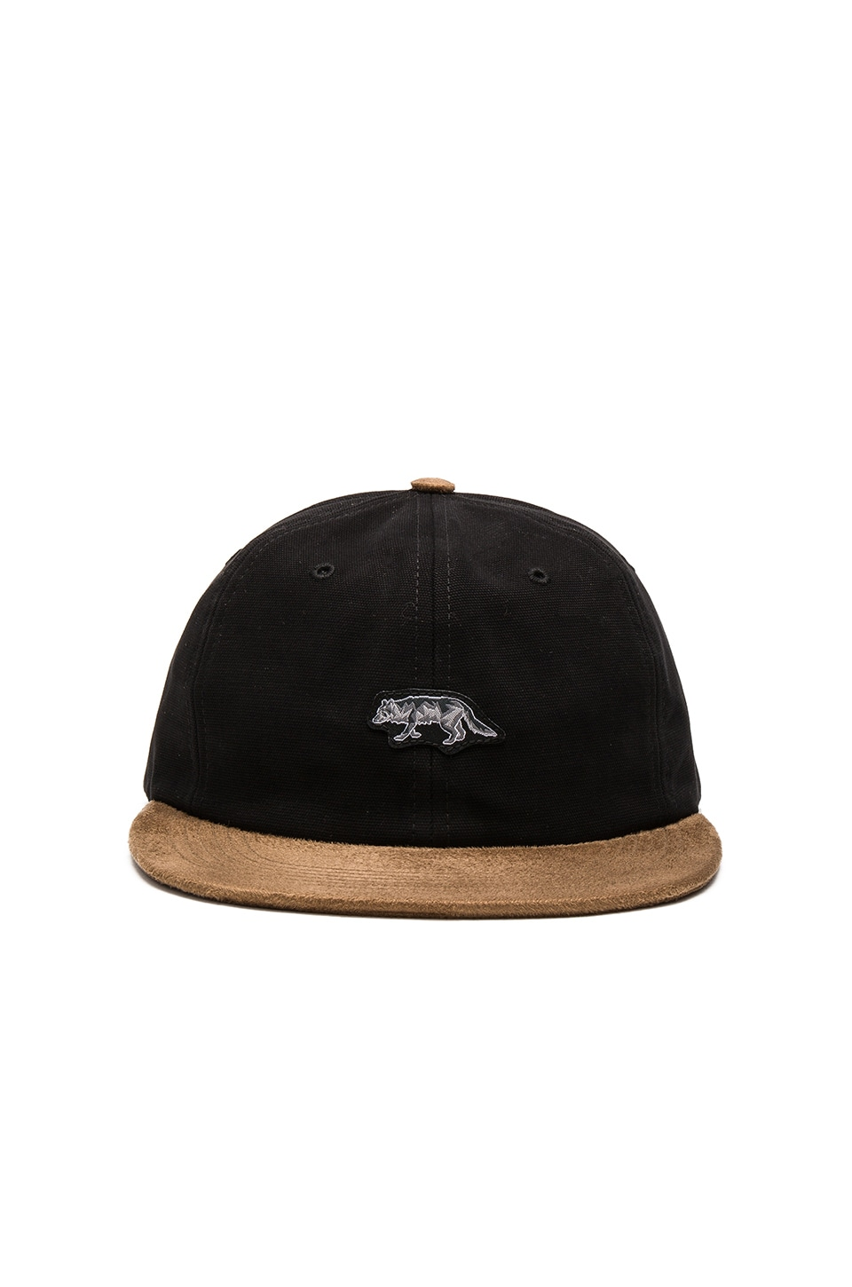 Raised by Wolves Geowulf Polo Cap in Black