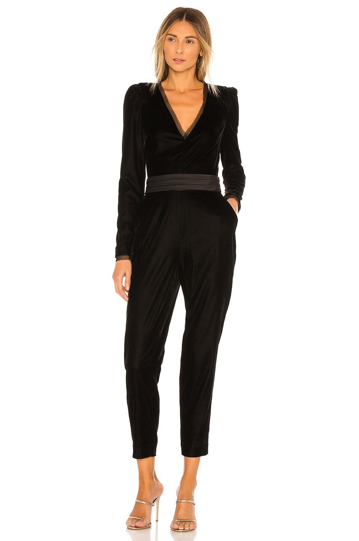 RACHEL ZOE Rafele Jumpsuit en Black