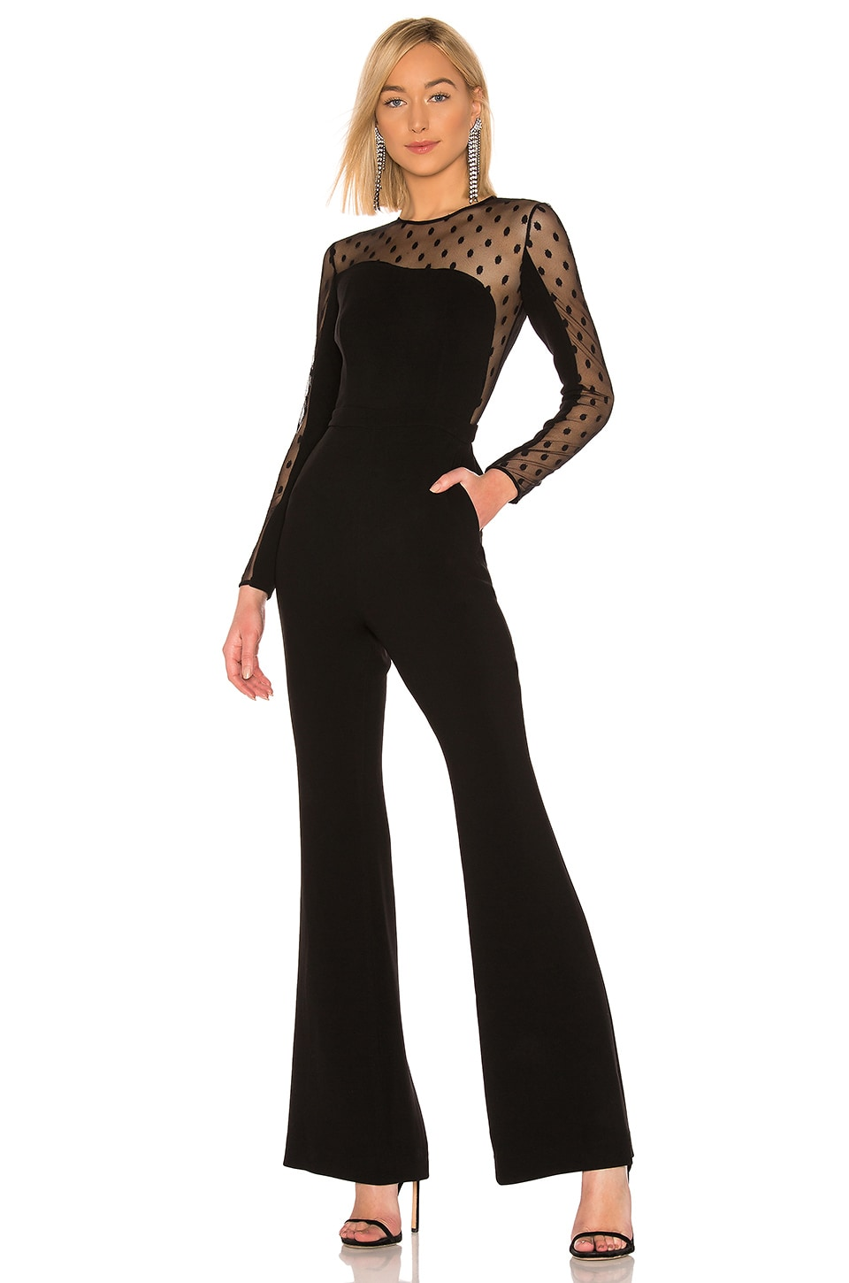 RACHEL ZOE Amber Jumpsuit in Black