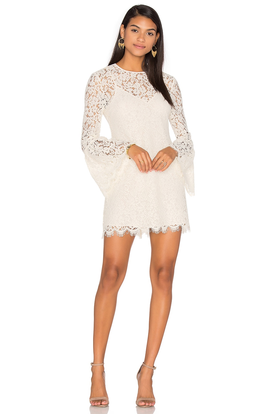 Bell Sleeve Mini Dress by RACHEL ZOE